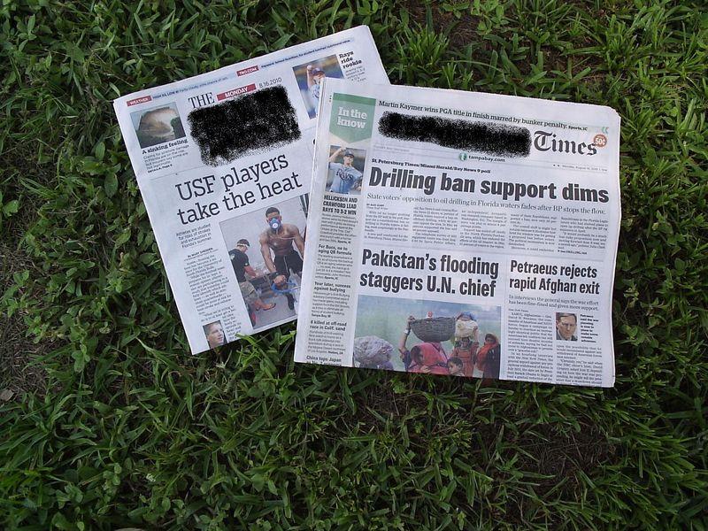 Newspapers Mine
