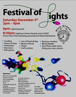 Festival of Lights Brochure