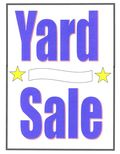 Yard Sale Sign - JTE0001