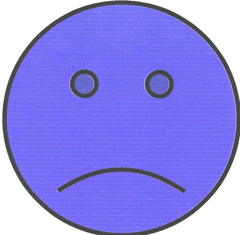 Unsmiley Face Made by Me0001