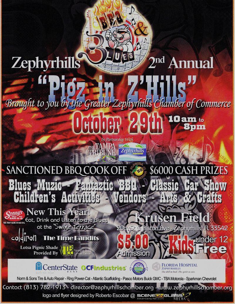 2011 Pigz n Z'hills Poster