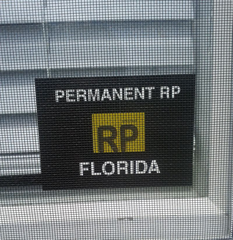 RP Mobile Home Sticker