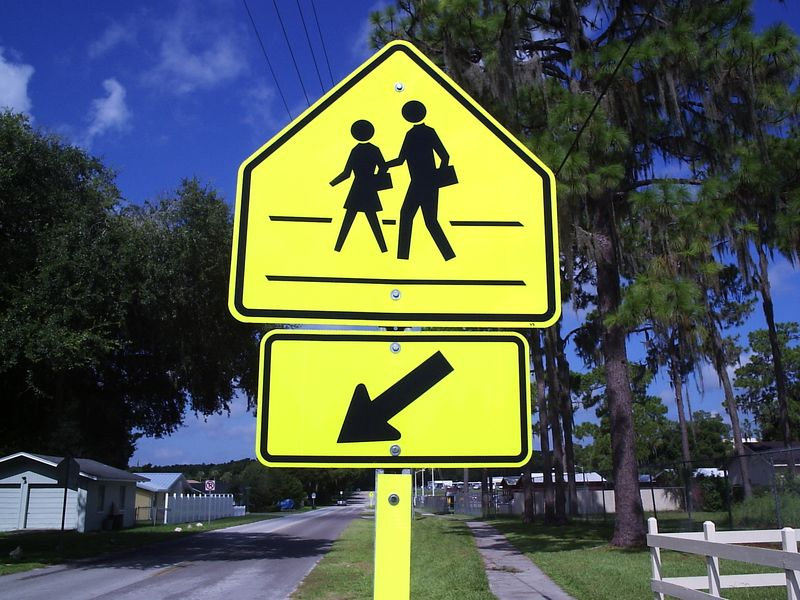 School Crossing - mine