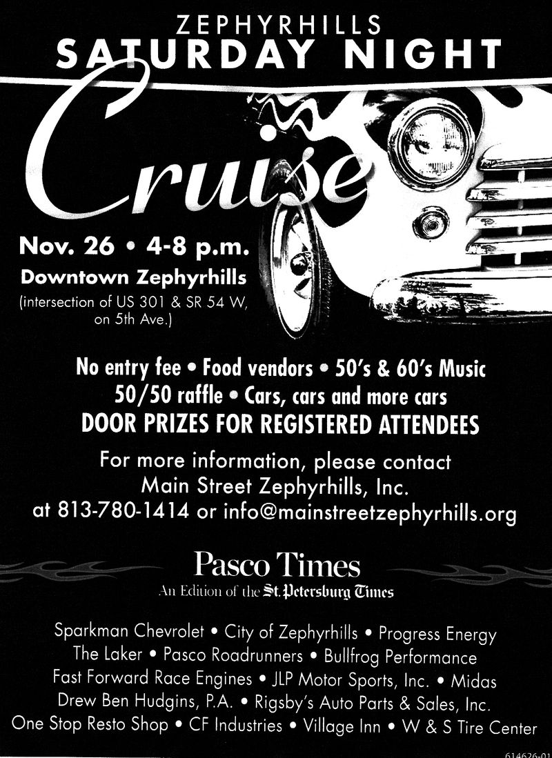 Saturday Night Cruise Nov. 26, 2011