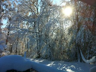 Snow in New York State from Bill Quackenbush - JTE