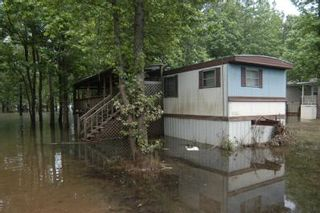 Flood View Exterior of Trailer - FEMA
