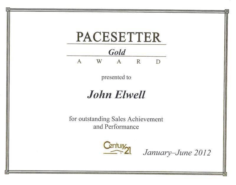 Gold Cert. First Half of 2012