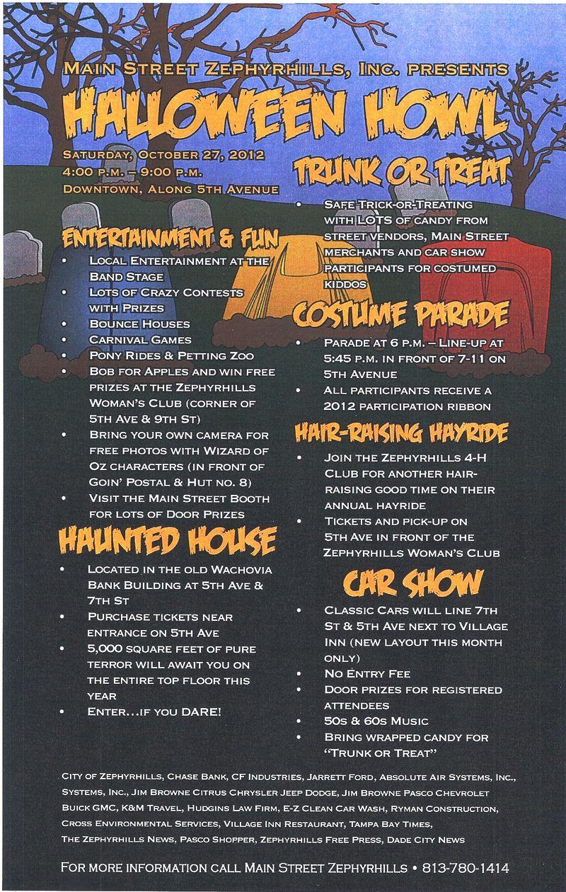 Halloween Howl 2012