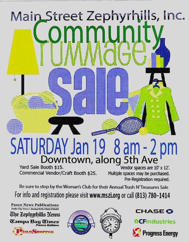 Community Rummage Sale 2013
