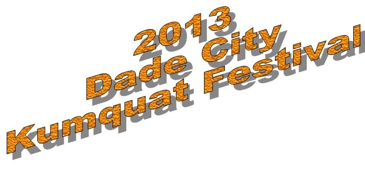 2013 Kumquat Festival