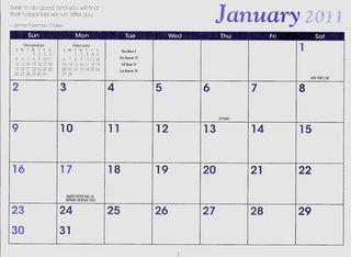 Calendar Page JTE
