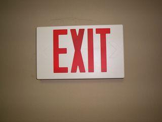 Exit Sign-JTE