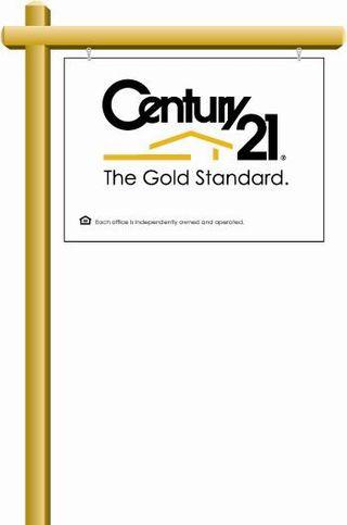 CENTURY 21 Standard Post Sign