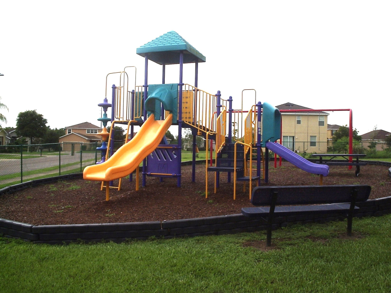 Playground at Greens at Hidden Creek
