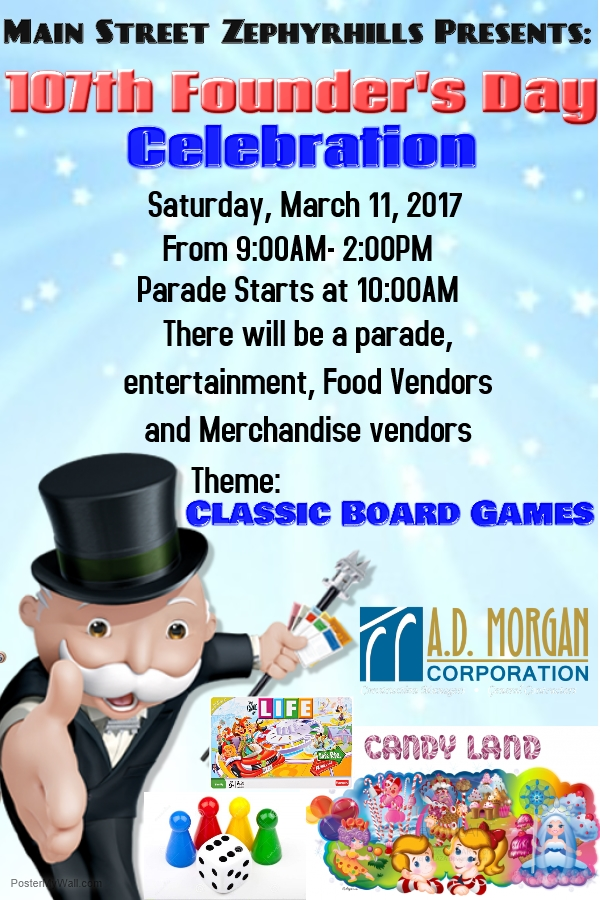 Founders day 2017 in Zephyrhills, Florida