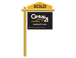Sold CENTURY 21 Sold Sign