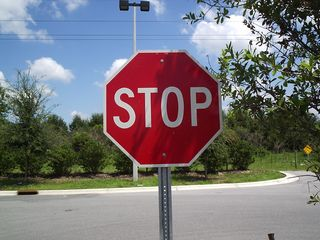 Stop Sign - Mine