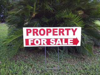 Property For Sale Sign - JTE