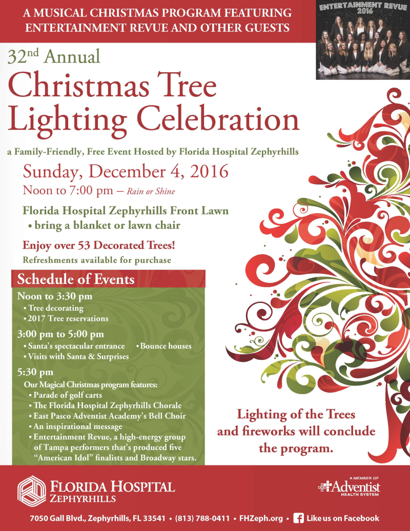2016 Christmas Tree Lighting Celebration