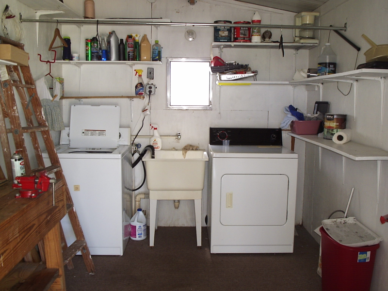 Laundry Room and Workshop - Dale Avenue