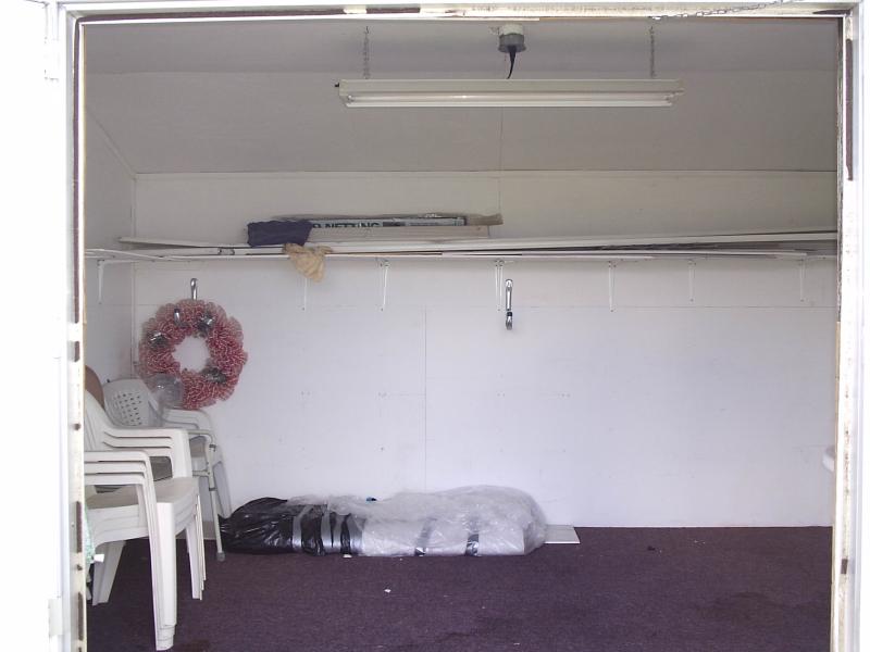 Utility Shed Interior - Dale Avenue